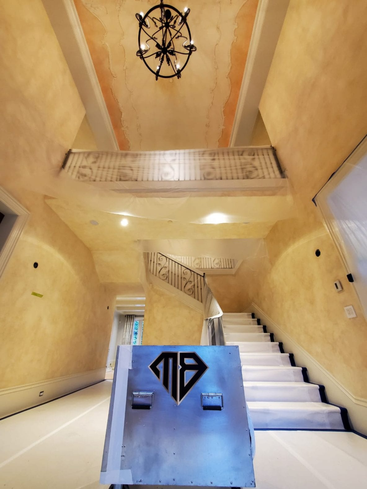 entry of a vancouver mansion with lead