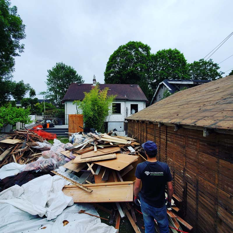 Deconstruct of home in vancouver